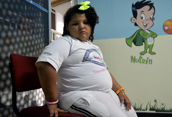 A new study released found overweight kids were less likely to have as many friends as children who were slim.