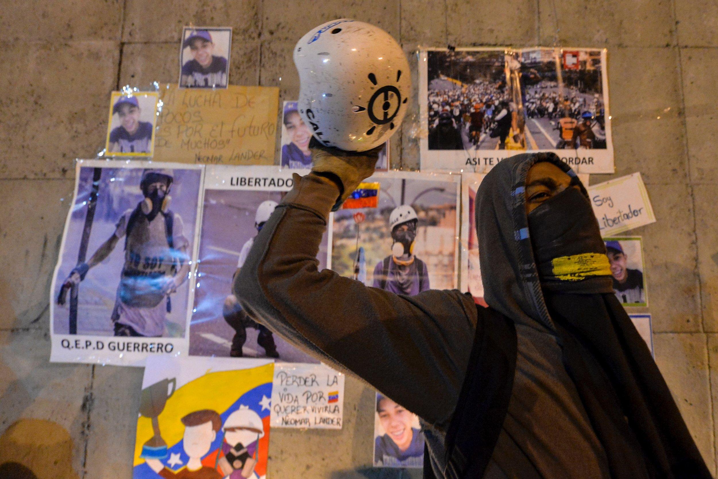 Venezuela Protest Neomar Lander