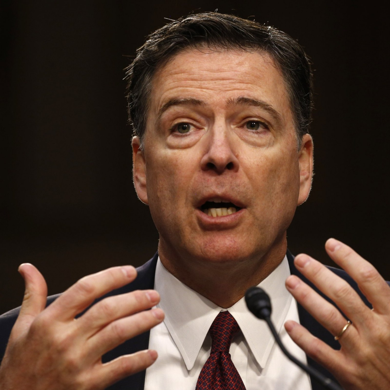 James Comey Can (Probably) Dunk
