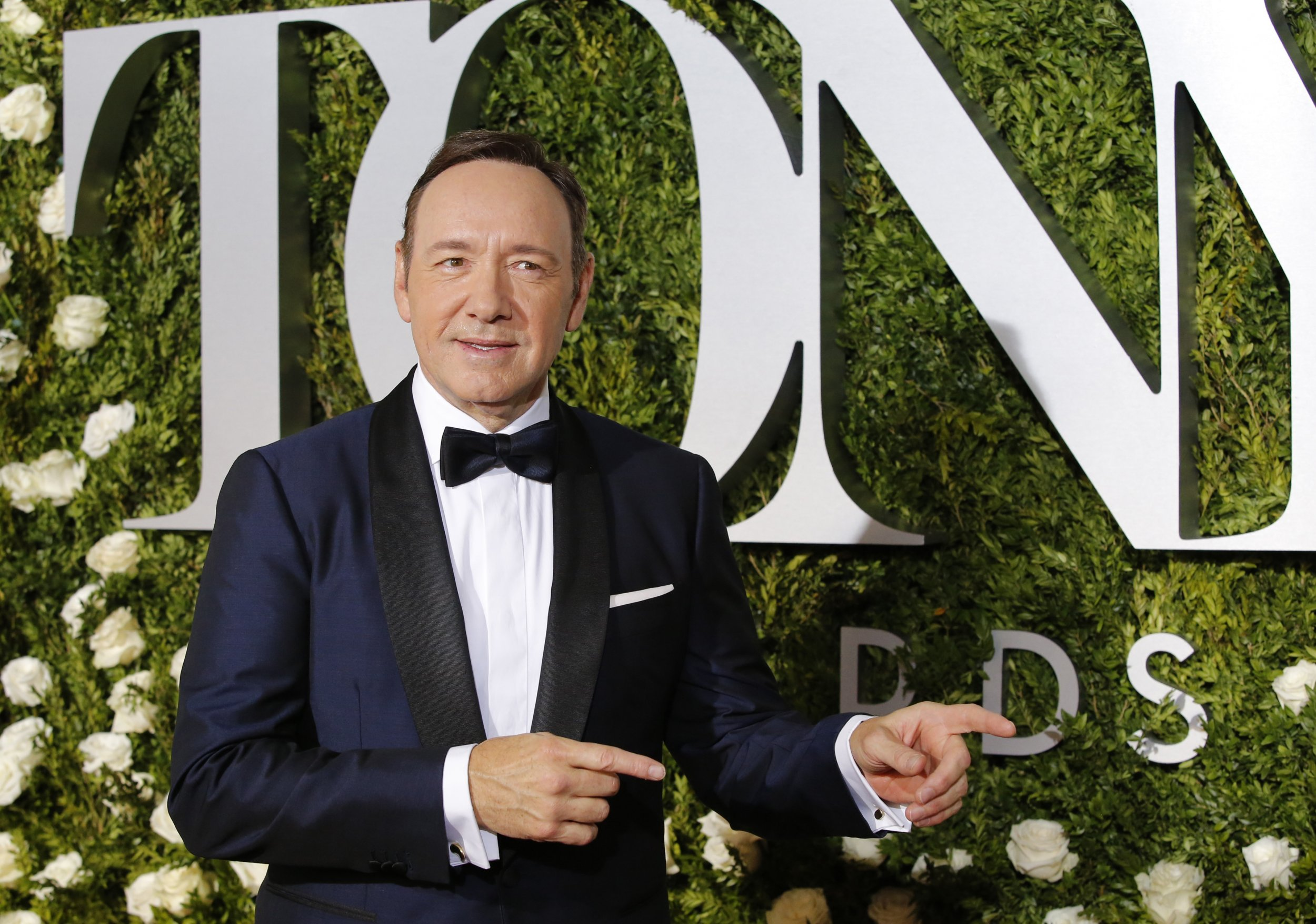 6-11-17 Kevin Spacey Tony Awards
