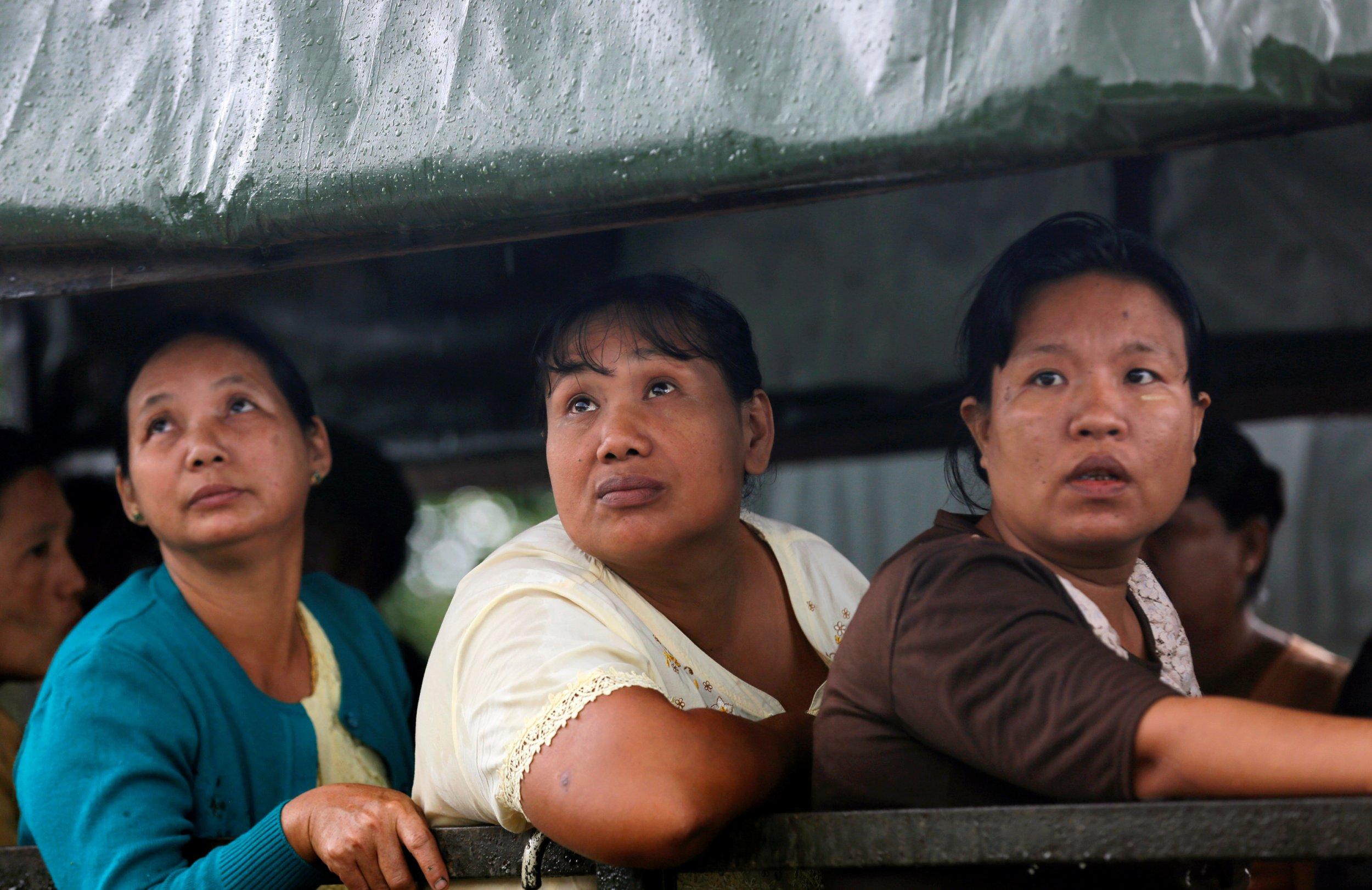 Myanmar plane family