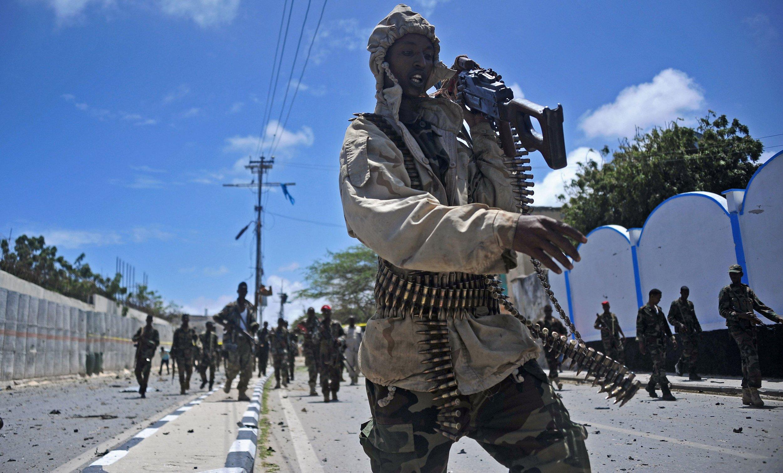 Somalia soldier Mogadishu