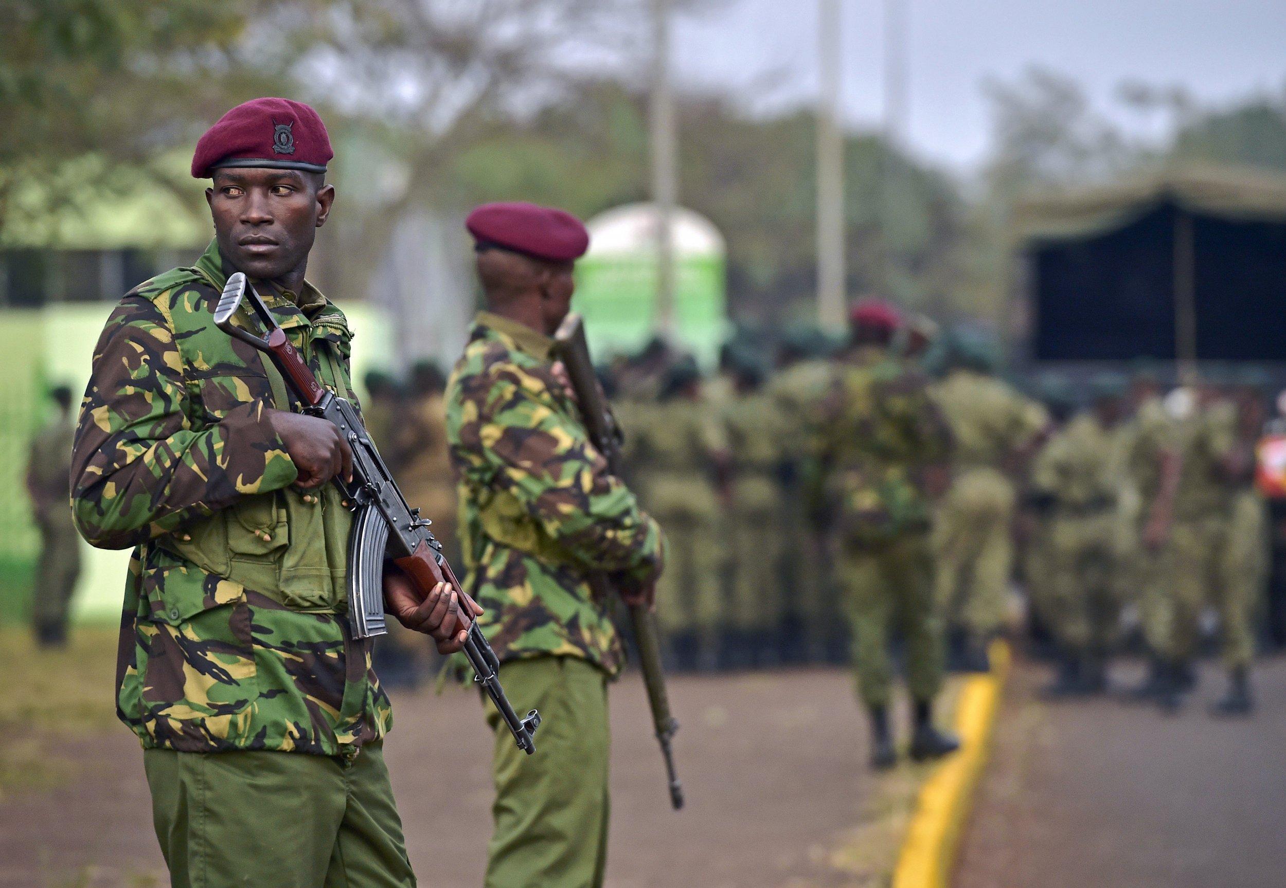 Kenya soldier