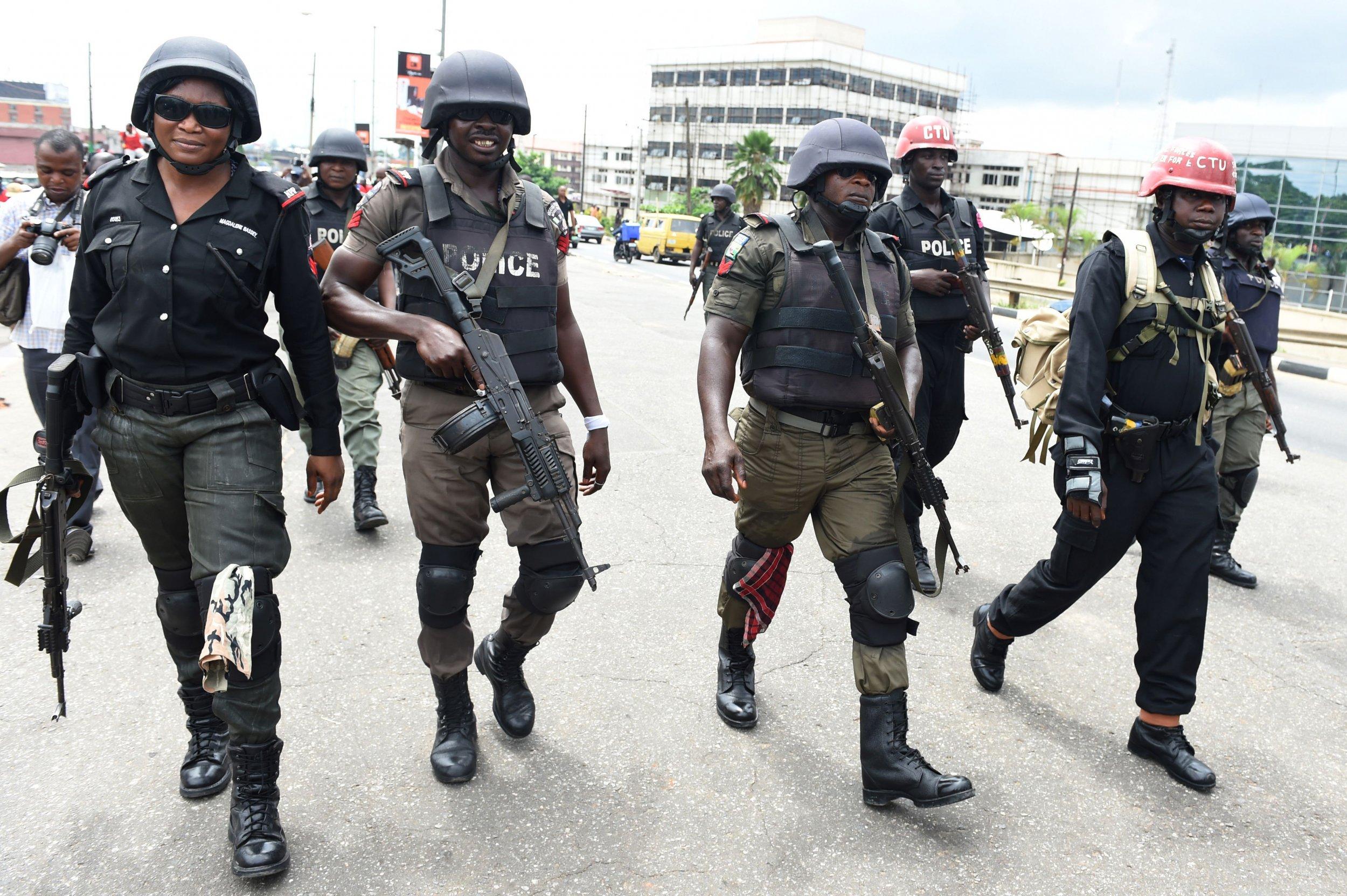 Nigeria anti-riot police