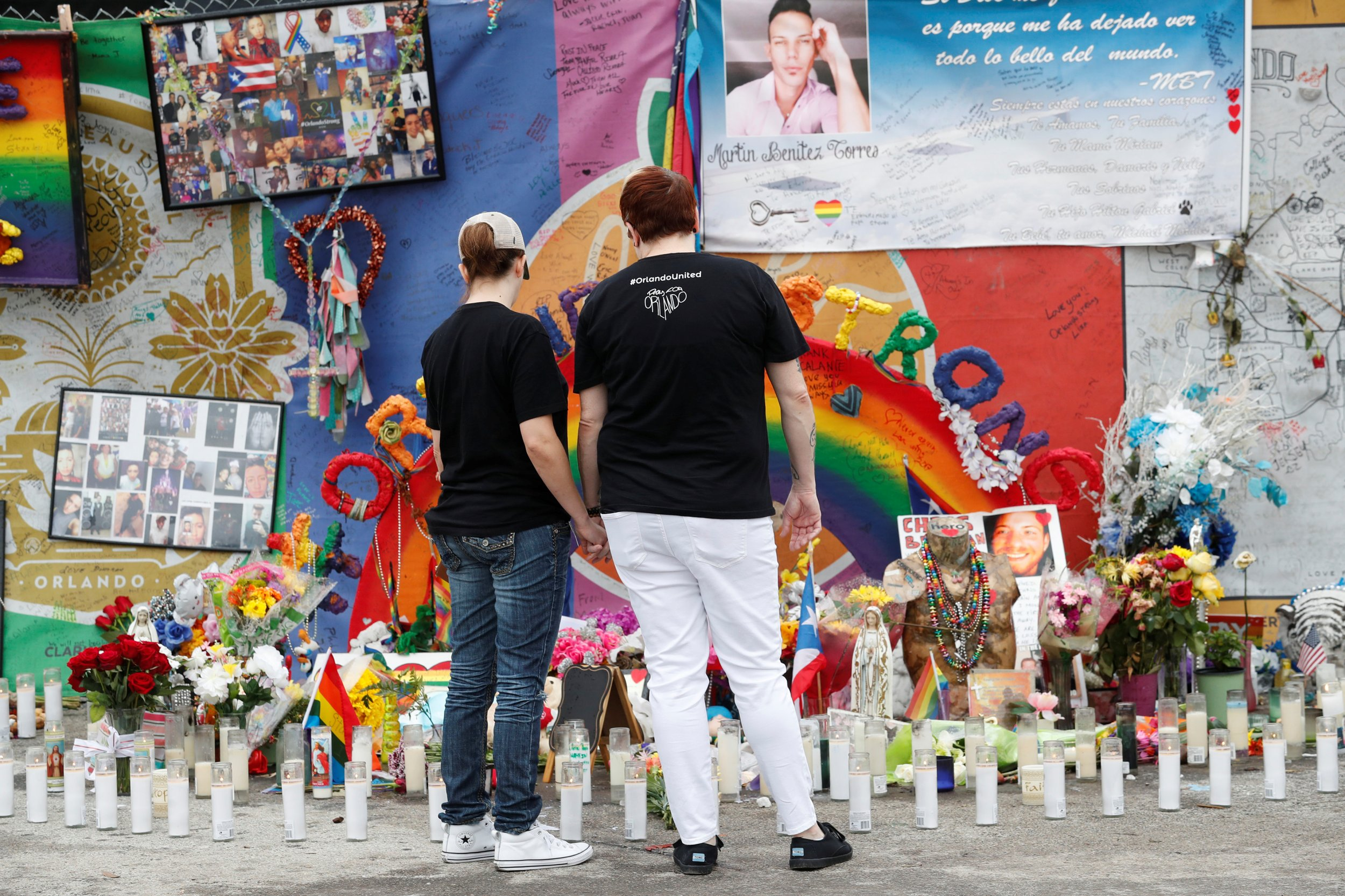 Orlando Pulse Nightclub memorial