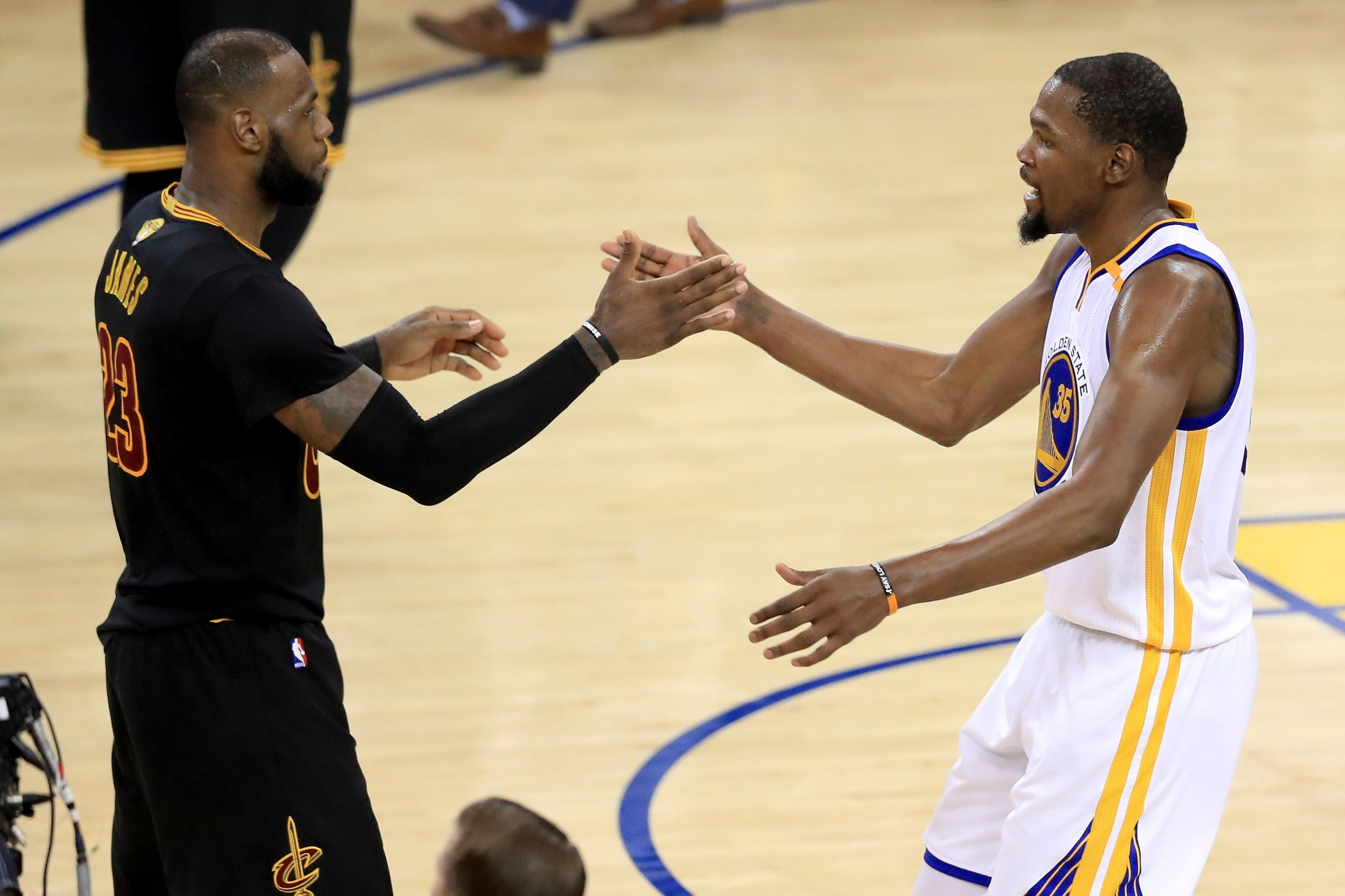 NBA Finals 2017: Watch Kevin Durant and LeBron James ...
