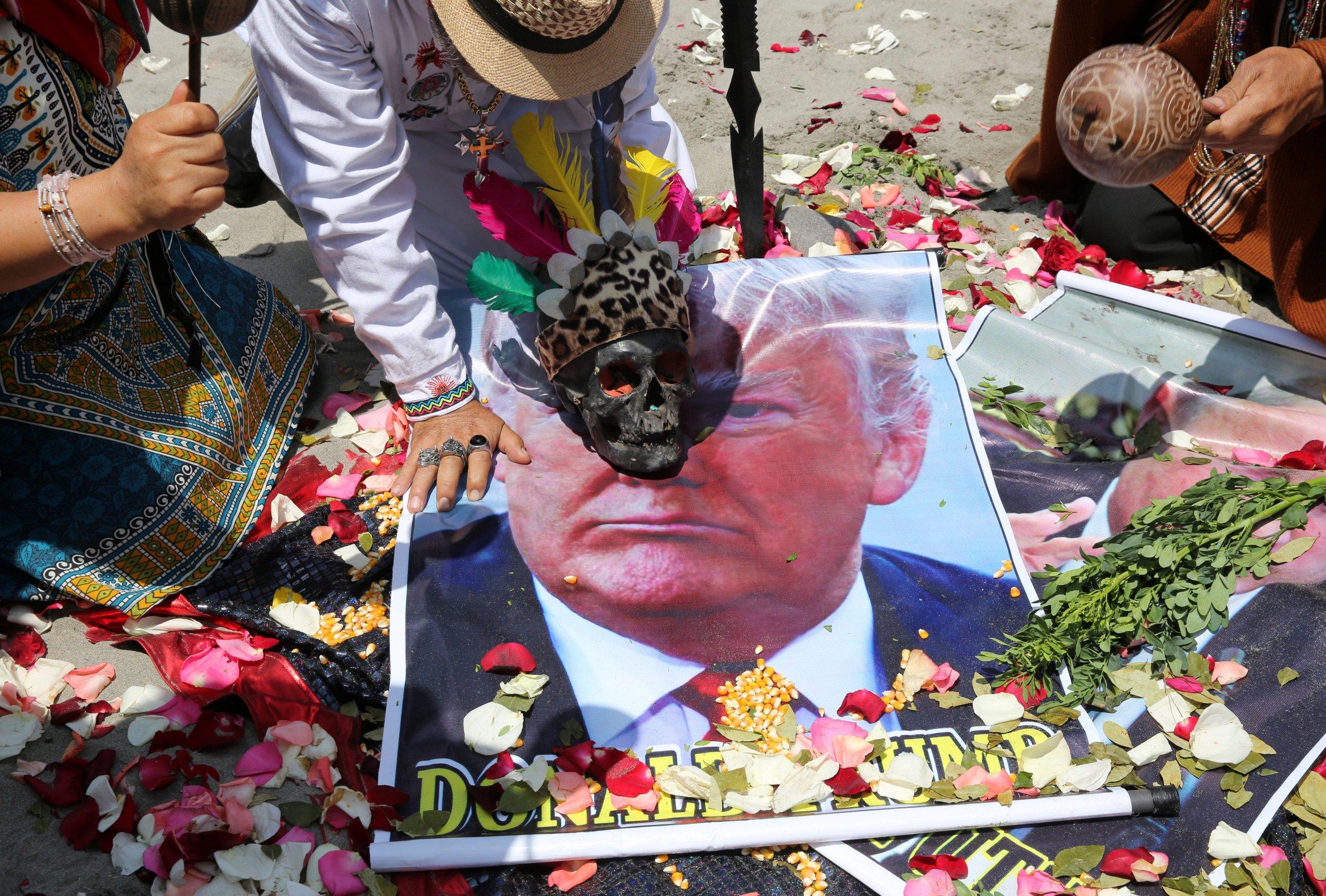 Peru Shaman ritual