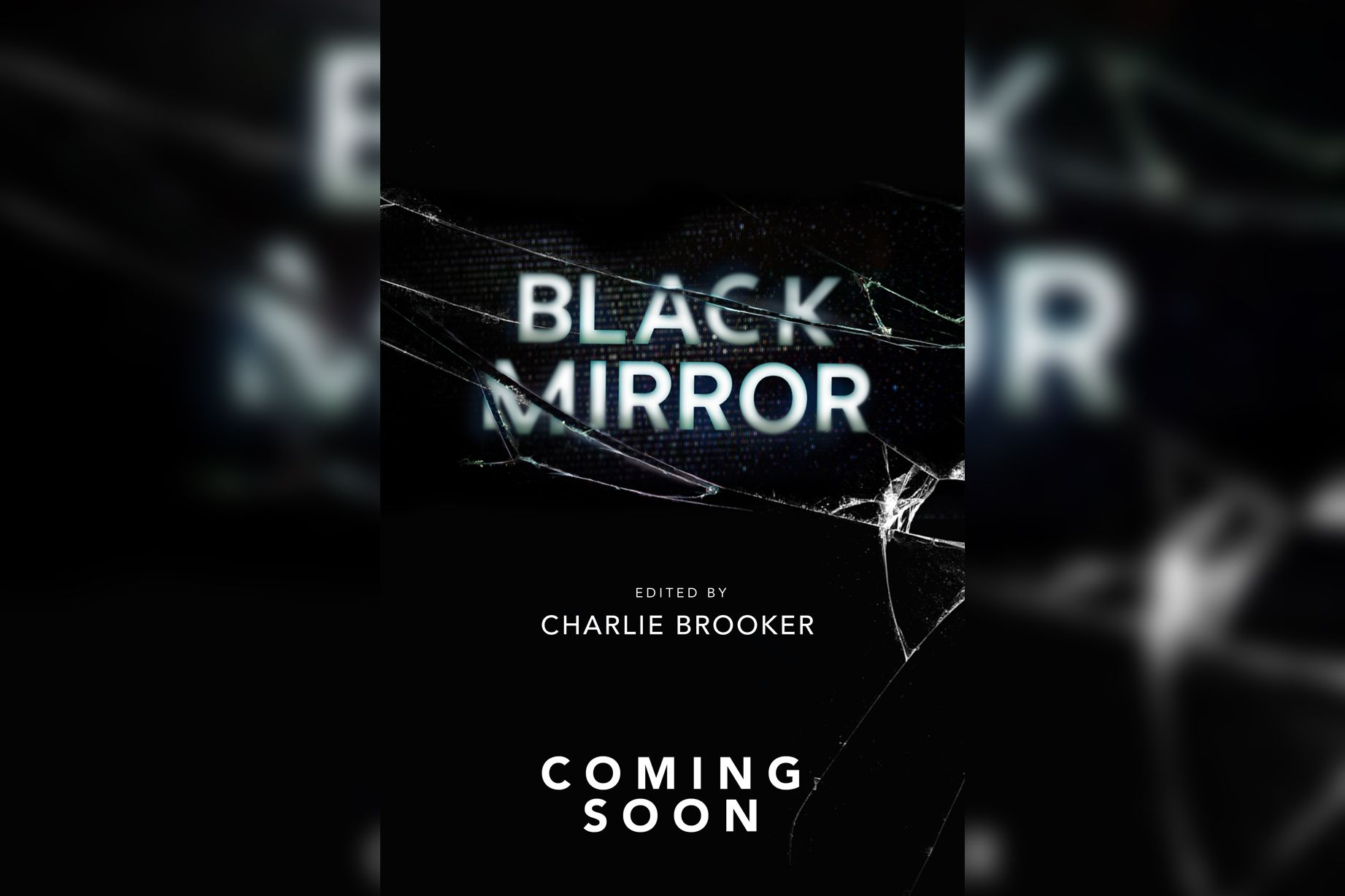 Book Cover Black Mirror : Black mirror is becoming a book series because the