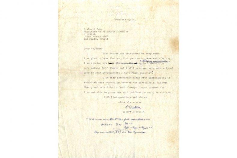 6-13-17 Einstein letter