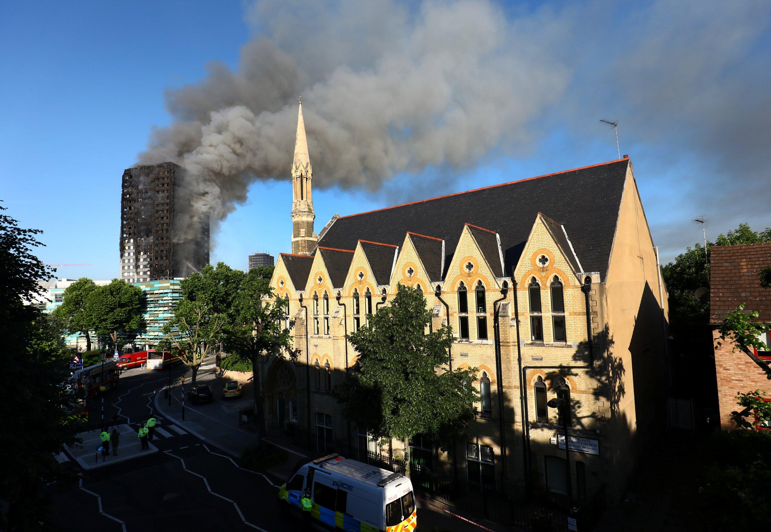 London Tower Block Fire