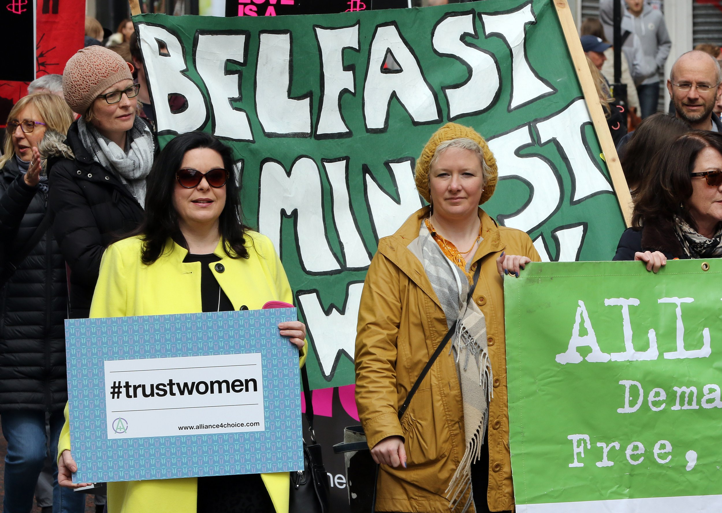 Northern Ireland abortion women