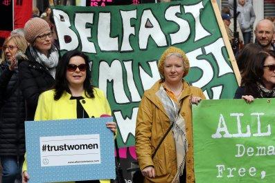 Northern Ireland abortion women