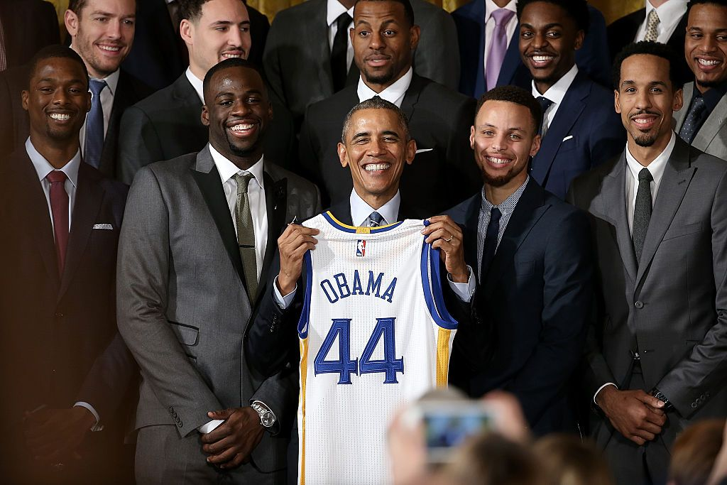 Warriors With Obama in 2016