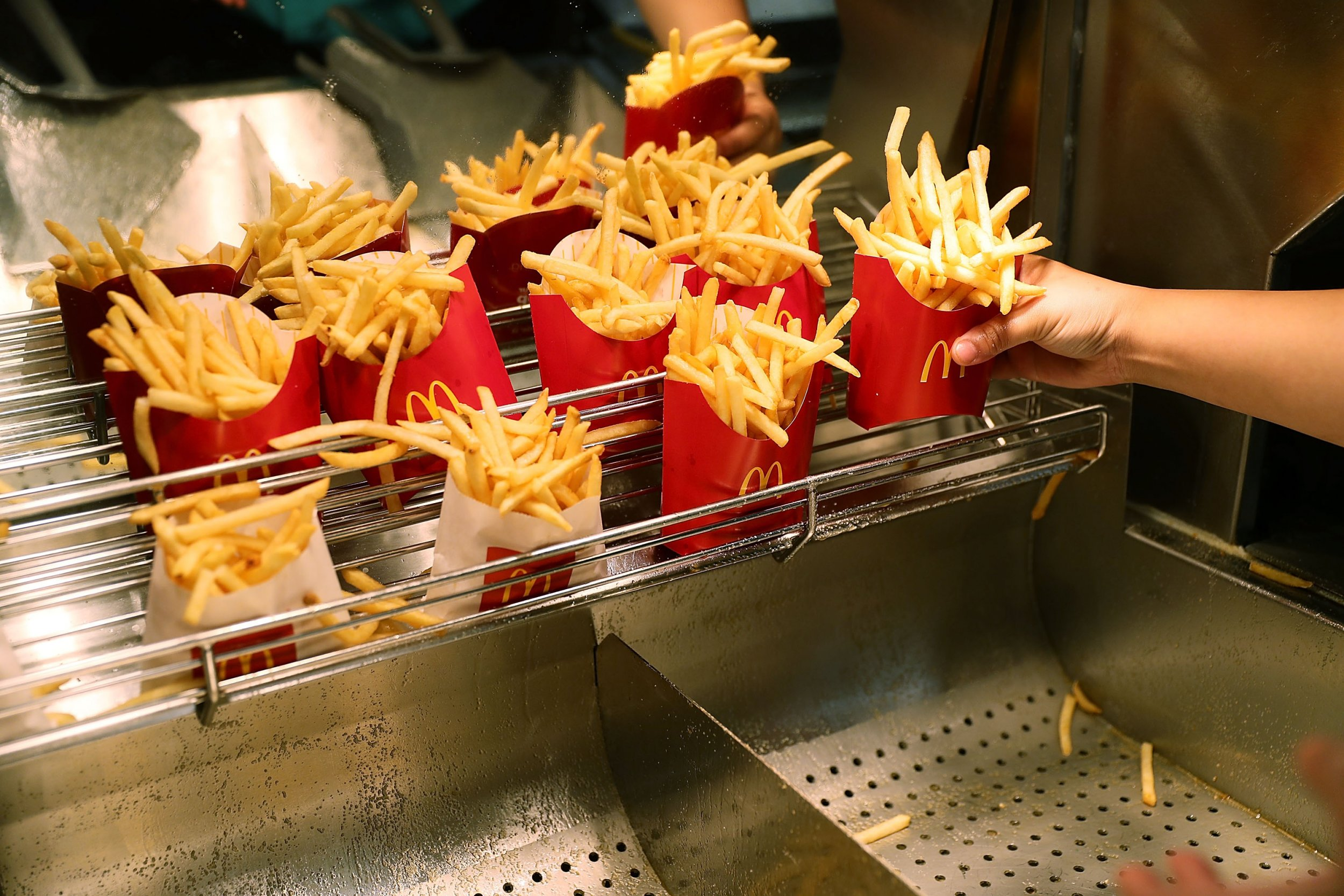 Mcdonalds Kentucky Fried Chicken Or Taco Bell Eating Junk Food