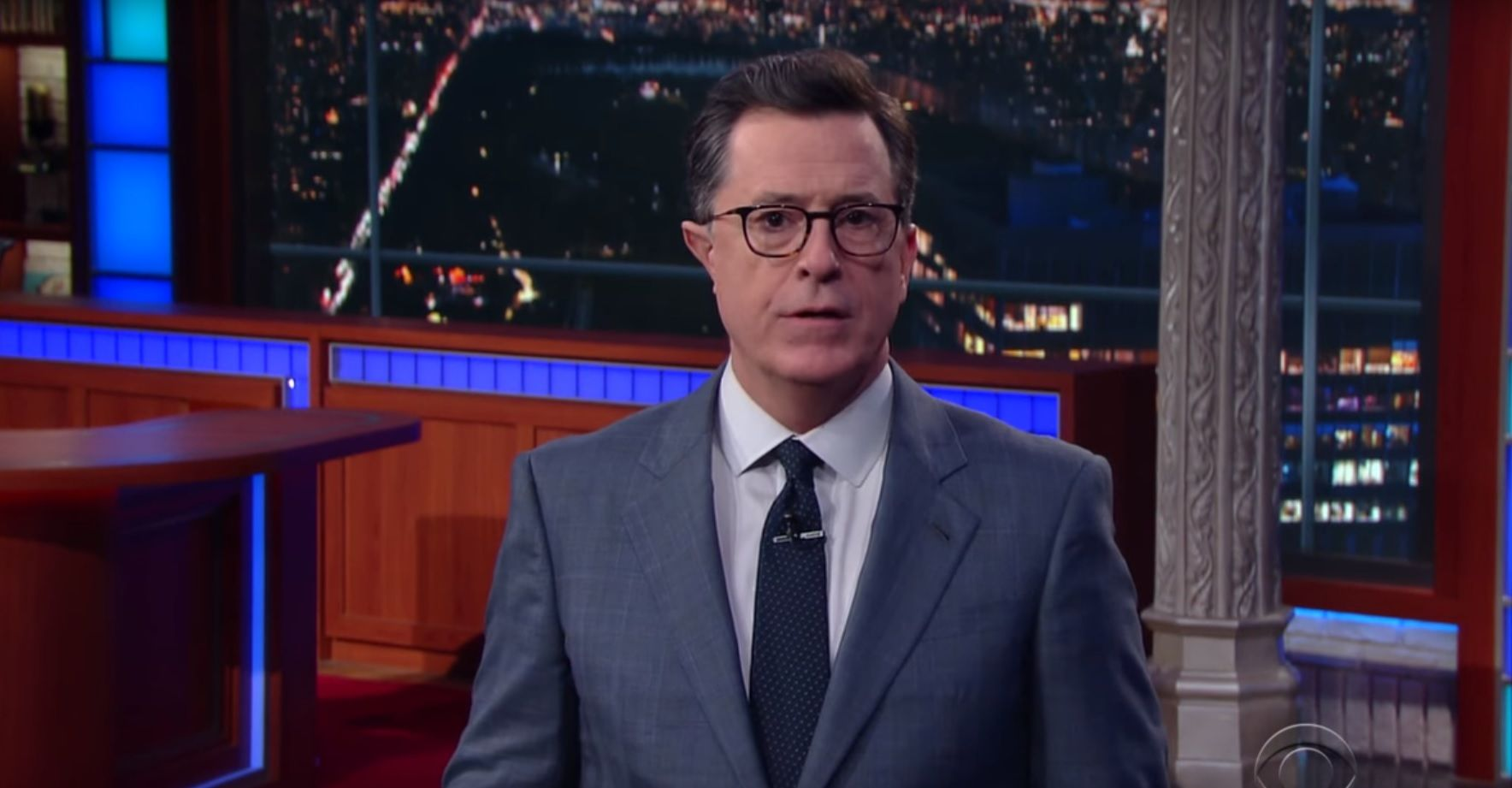 Stephen Colbert thanks Trump