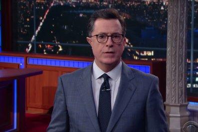 Stephen Colbert thanks Trump
