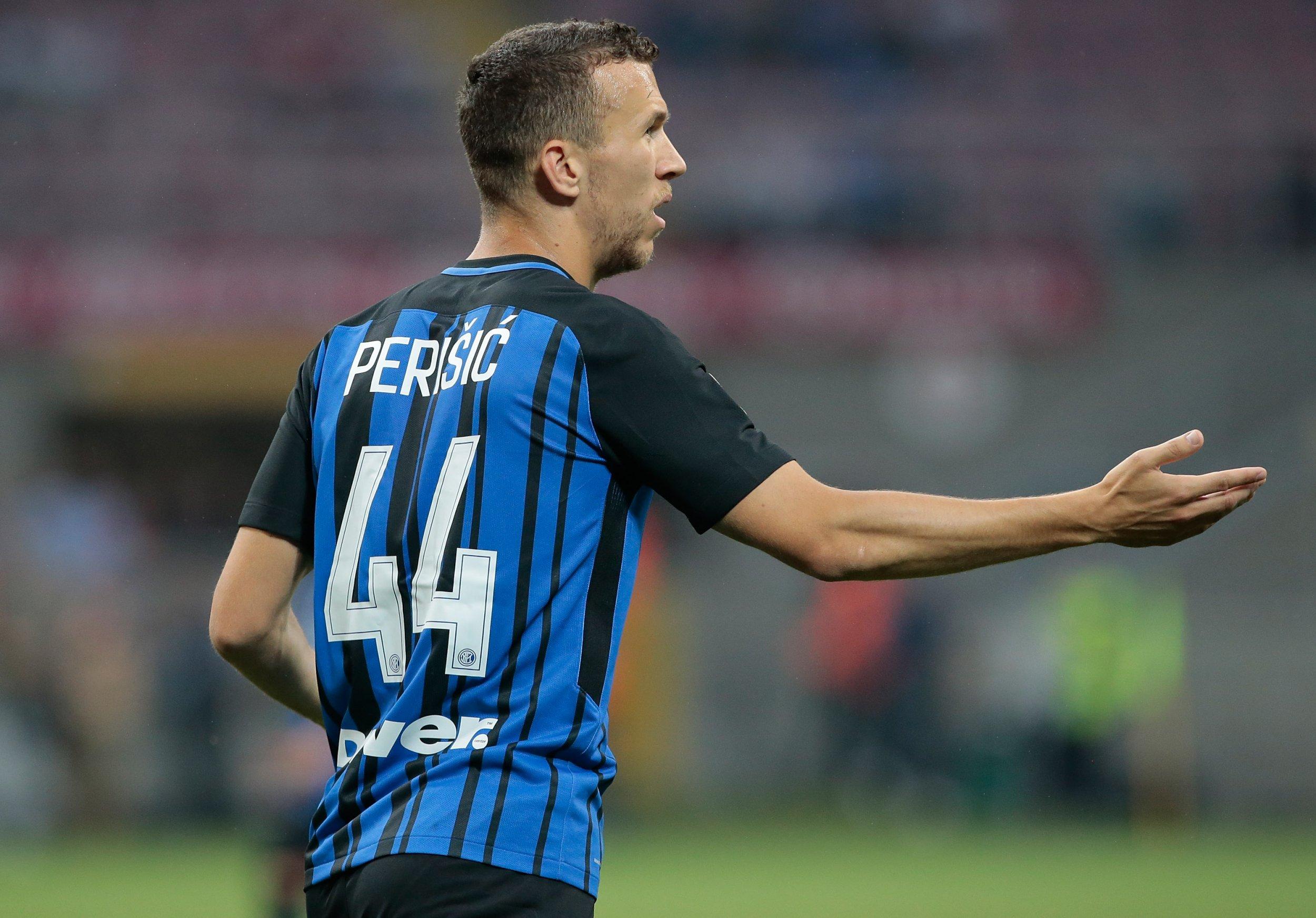 Inter Milan winger Ivan Perisic.