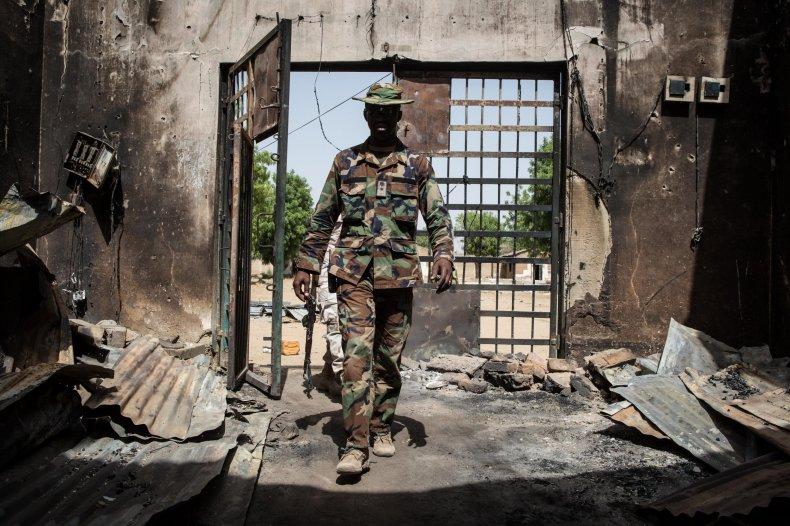 Boko Haram prison Bama