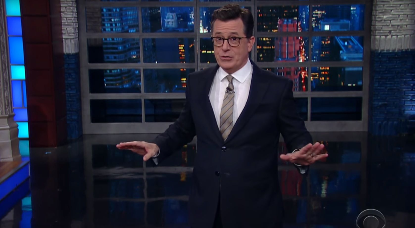 Stephen Colbert on Trump obstruction of justice