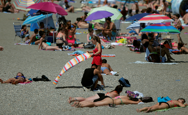 Maryland's attorney general says it's OK to ban women from going topless at the beach.