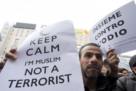 Anti-terror Muslim