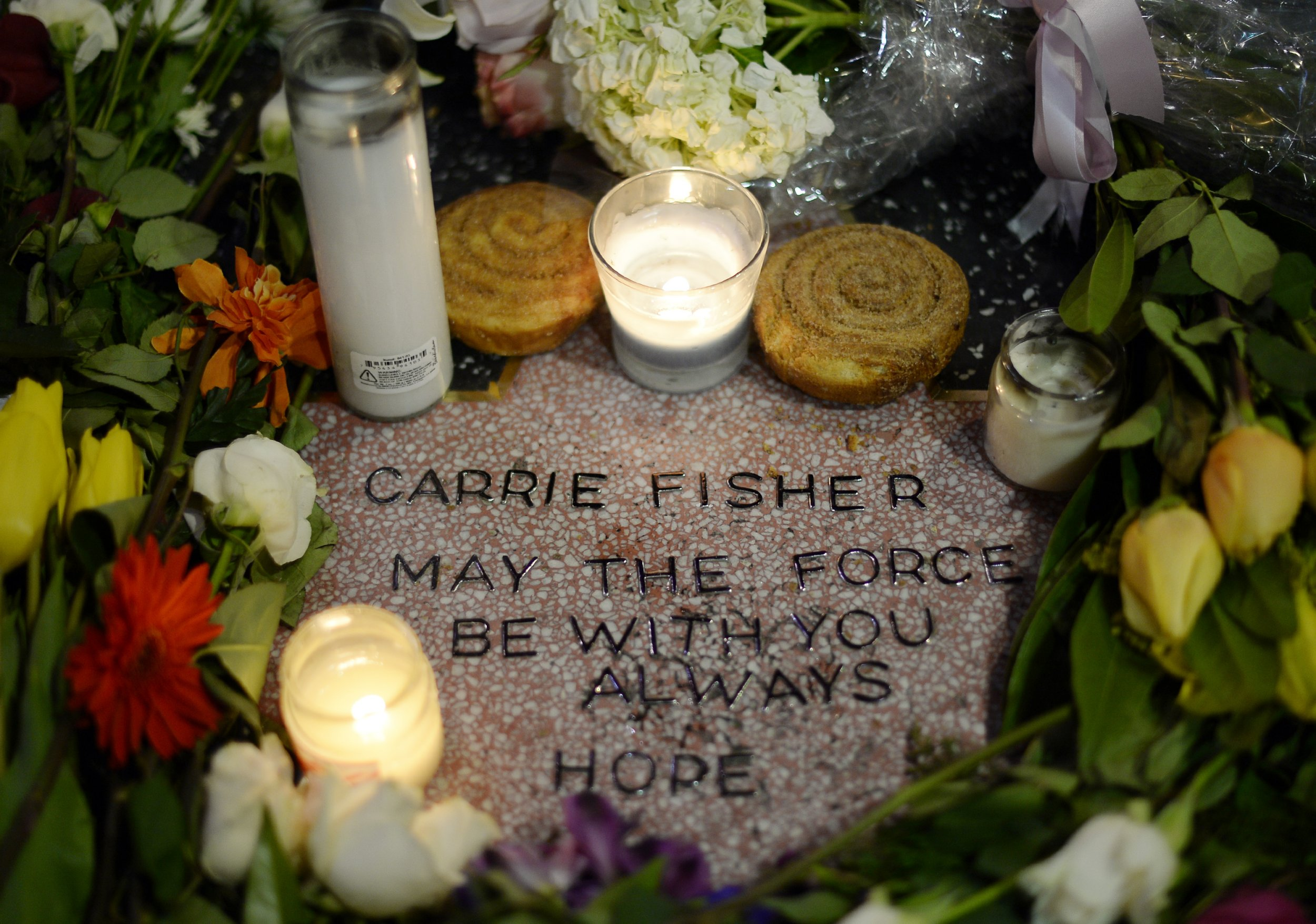 Carrie Fisher tributes