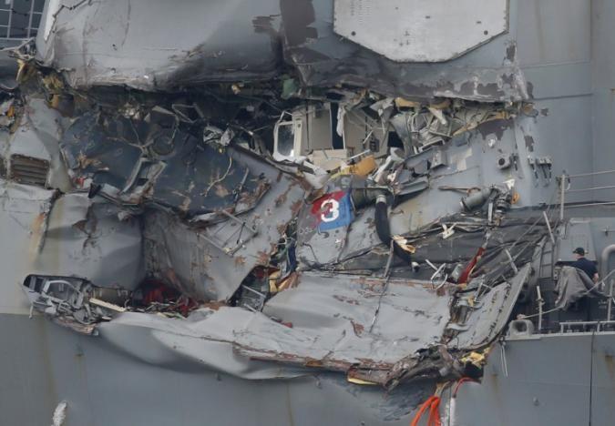 Uss Fitzgerald Bodies Of Missing U S Navy Sailors Found