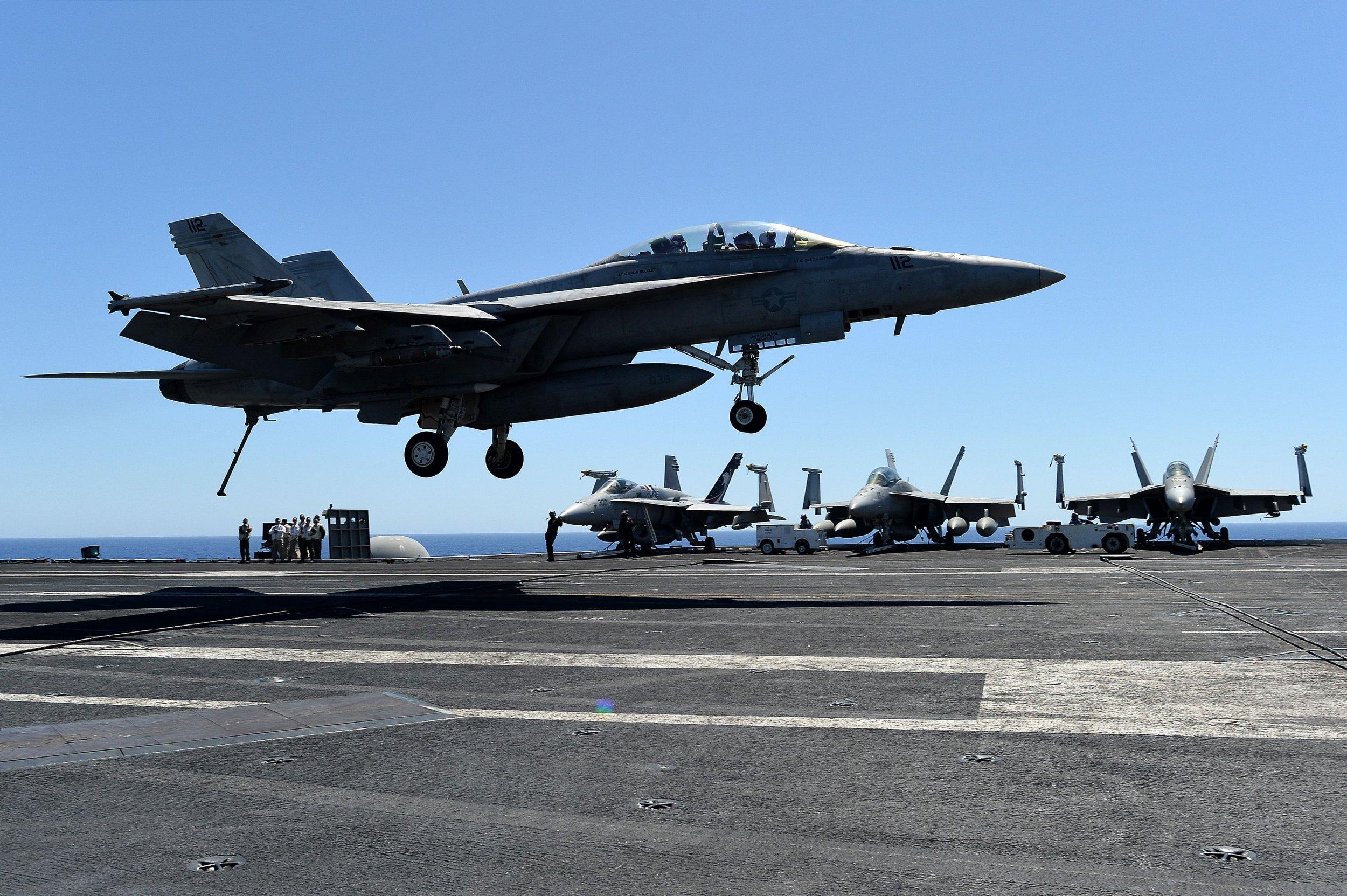 U.S. warplane