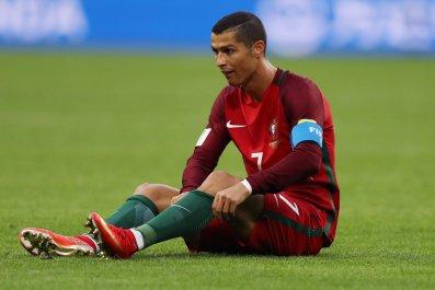 Real Madrid and Portugal forward Cristiano Ronaldo.