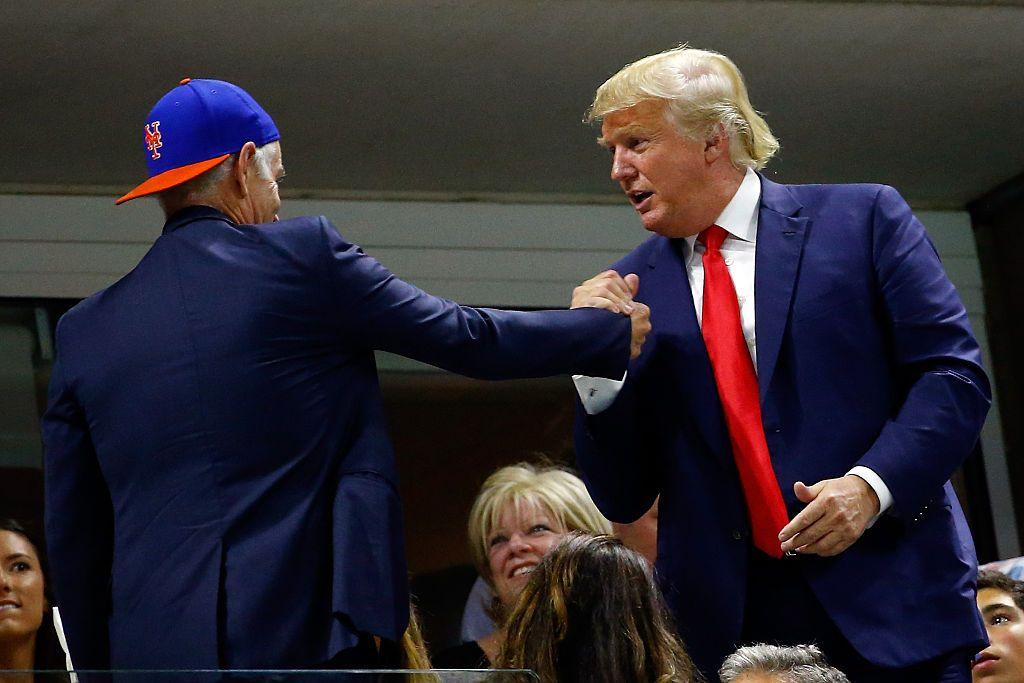 McEnroe and Trump
