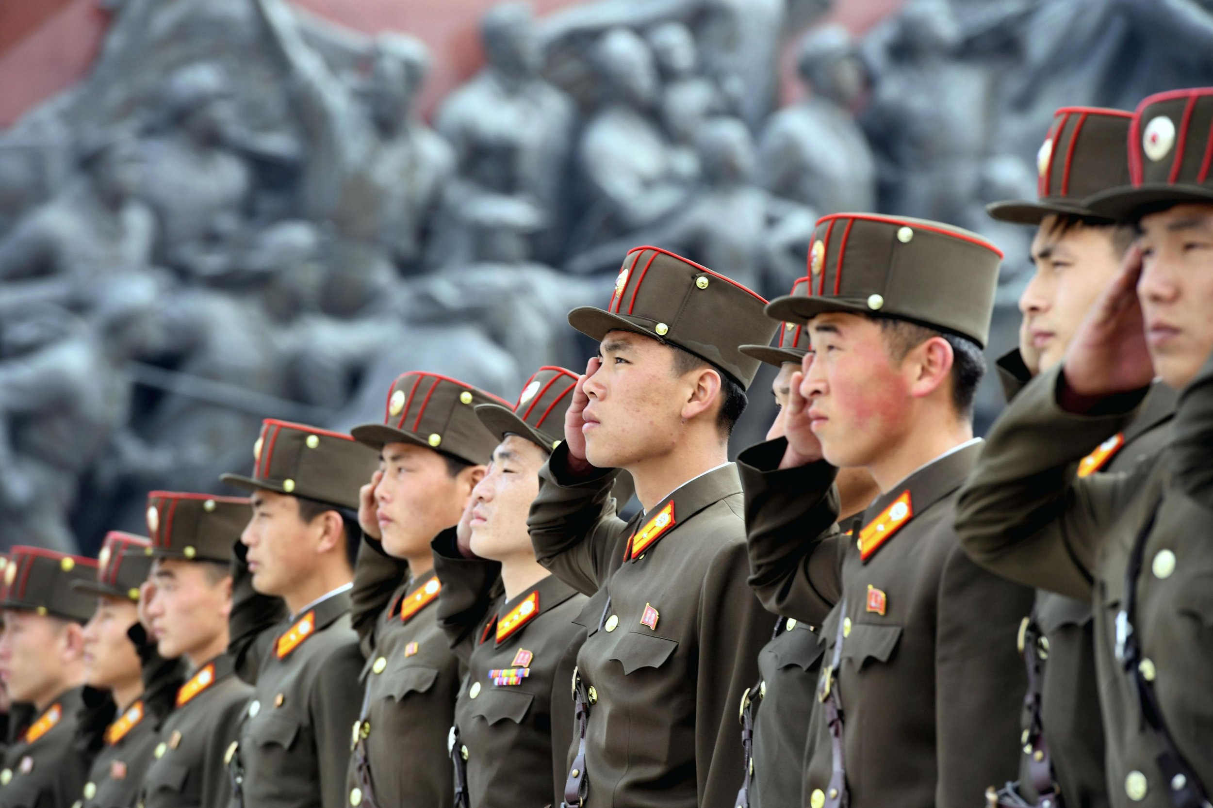 NK soldiers