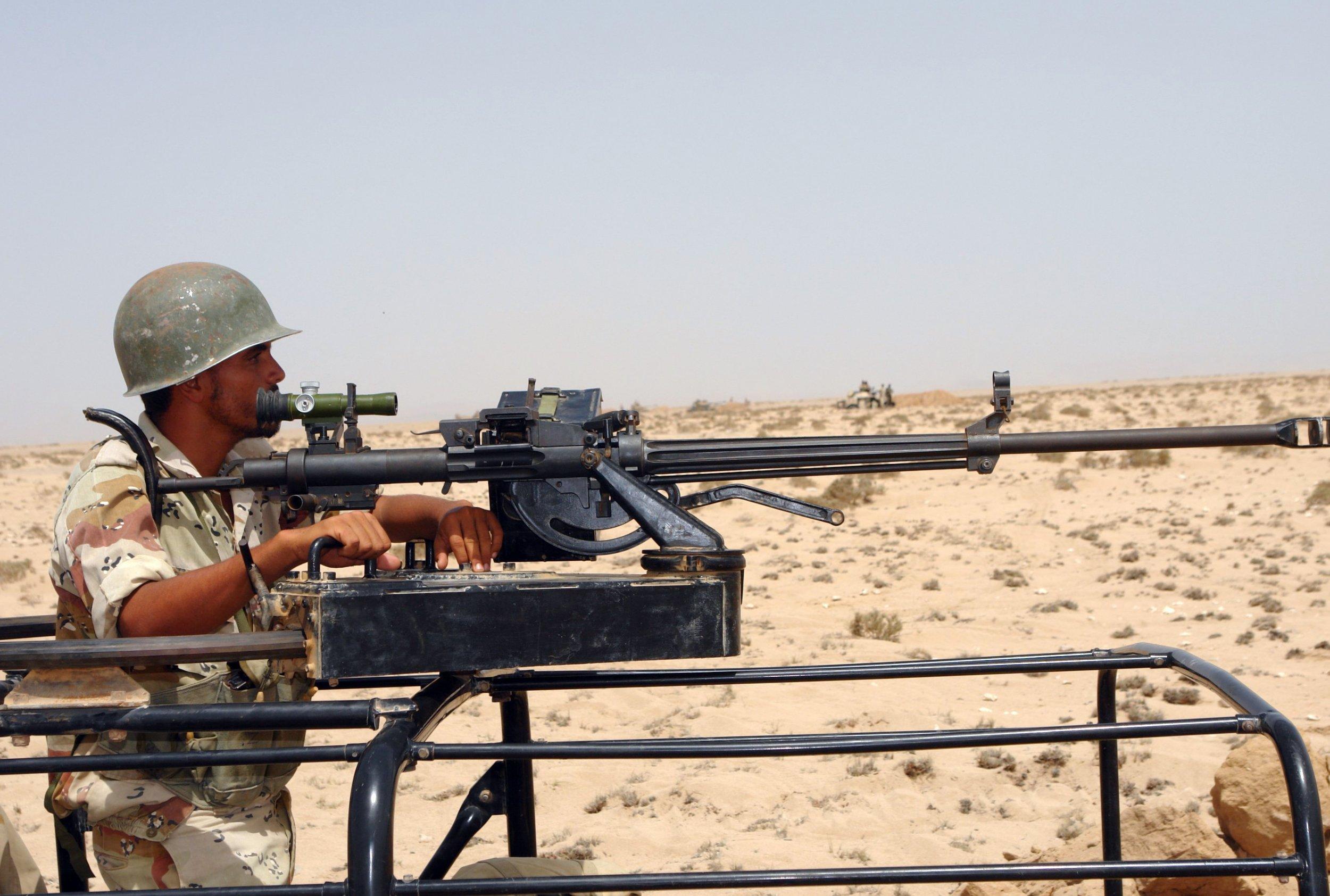 Djibouti soldier