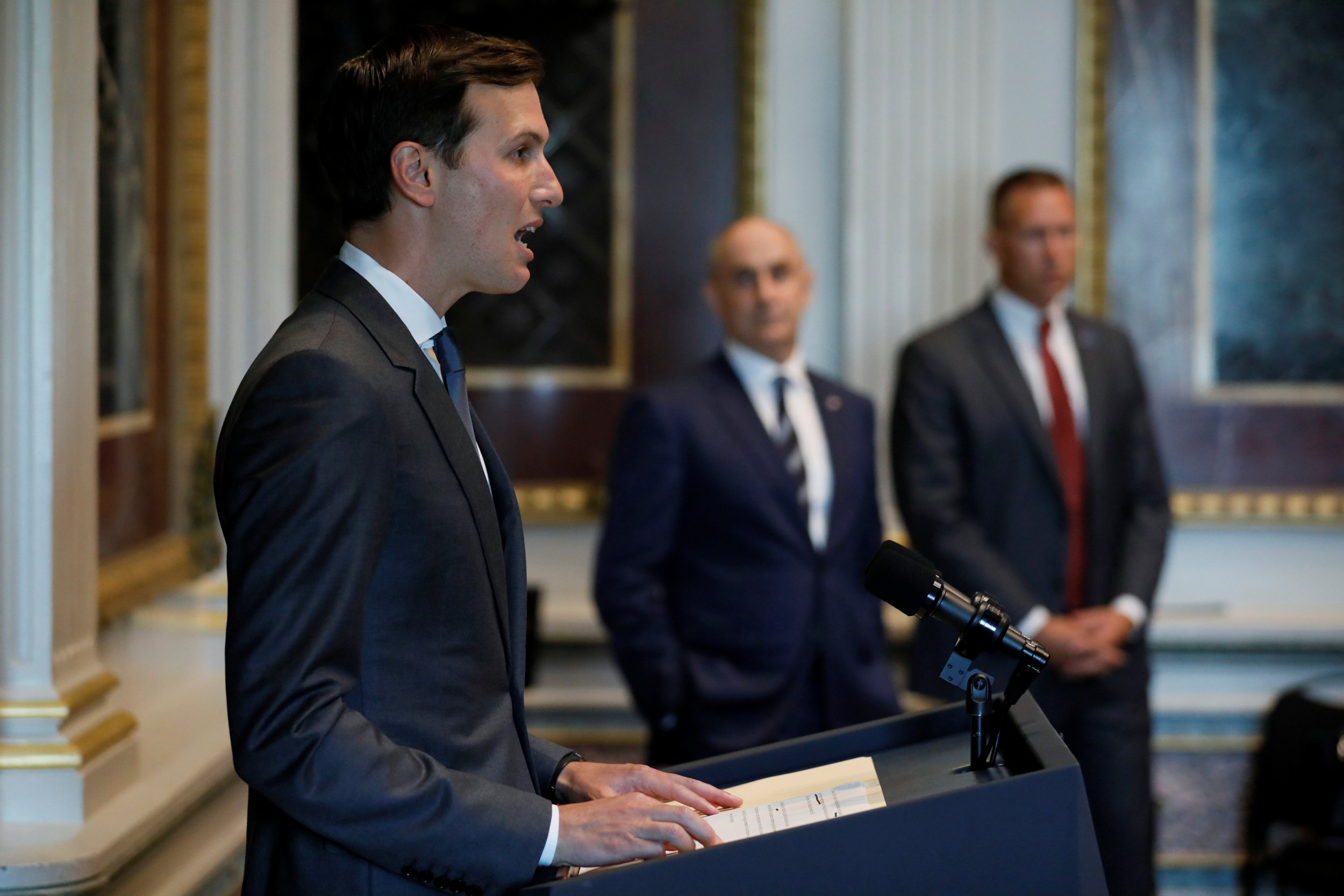 Jared Kushner actually speaks in public, and here's how his voice sounds