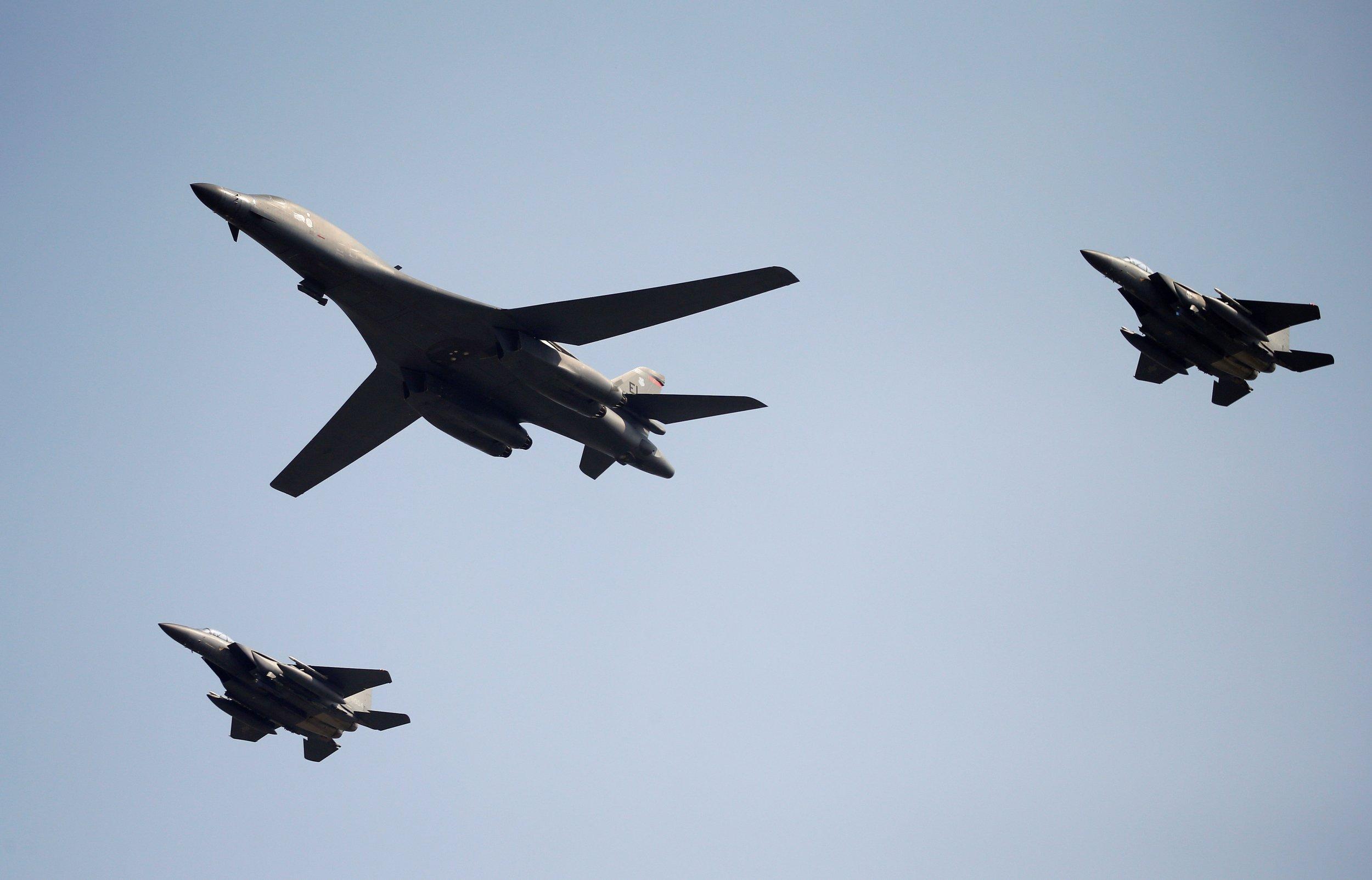 U.S. bomber South Korea