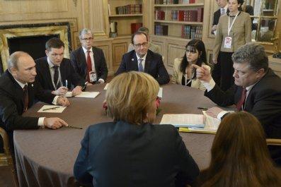 Poroshenko and Putin