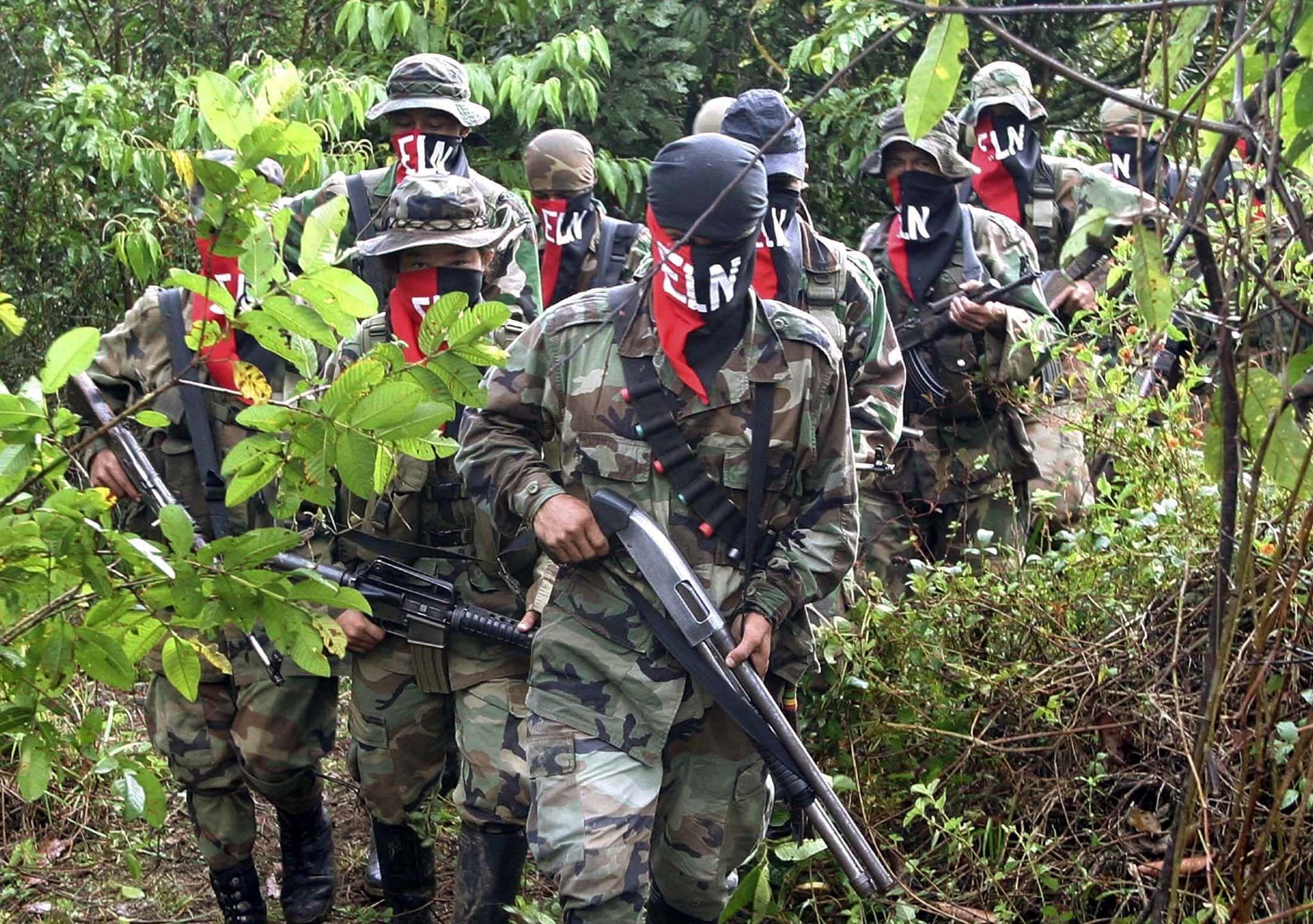 ELN Colombian rebels