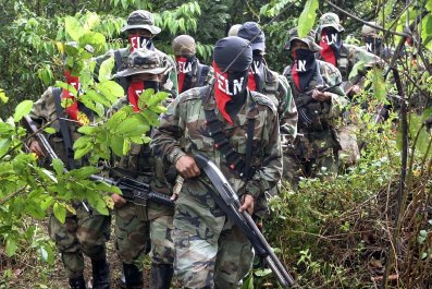 ELN Colombian rebels