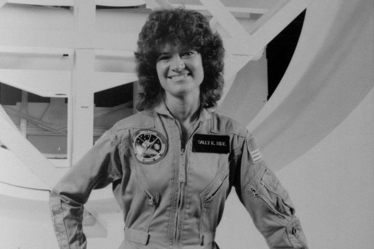 first american female astronaut in space - photo #17