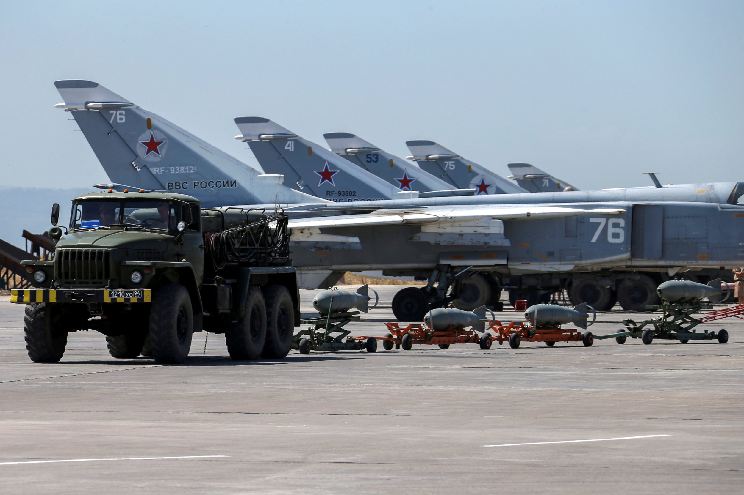 How serious are Russia's retaliatory threats toward U.S. and coalition forces in Syria?