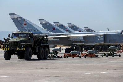 Hmeymim base, Russia in Syria
