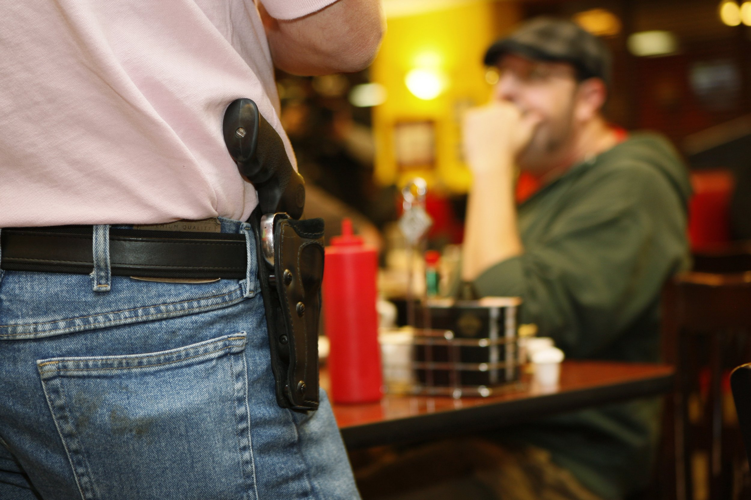 Lawmakers would be able to carry concealed guns everywhere, under Republican's bill
