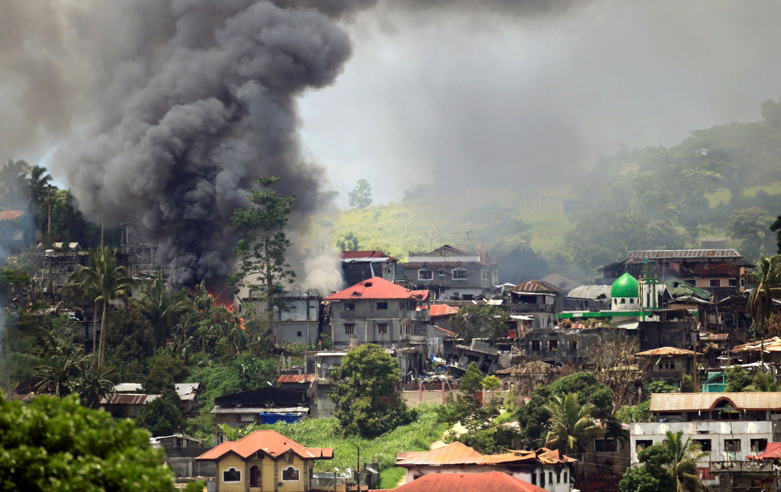 Elementary School Rankings >> Philippines Siege: ISIS Militants Have Withdrawn From ...