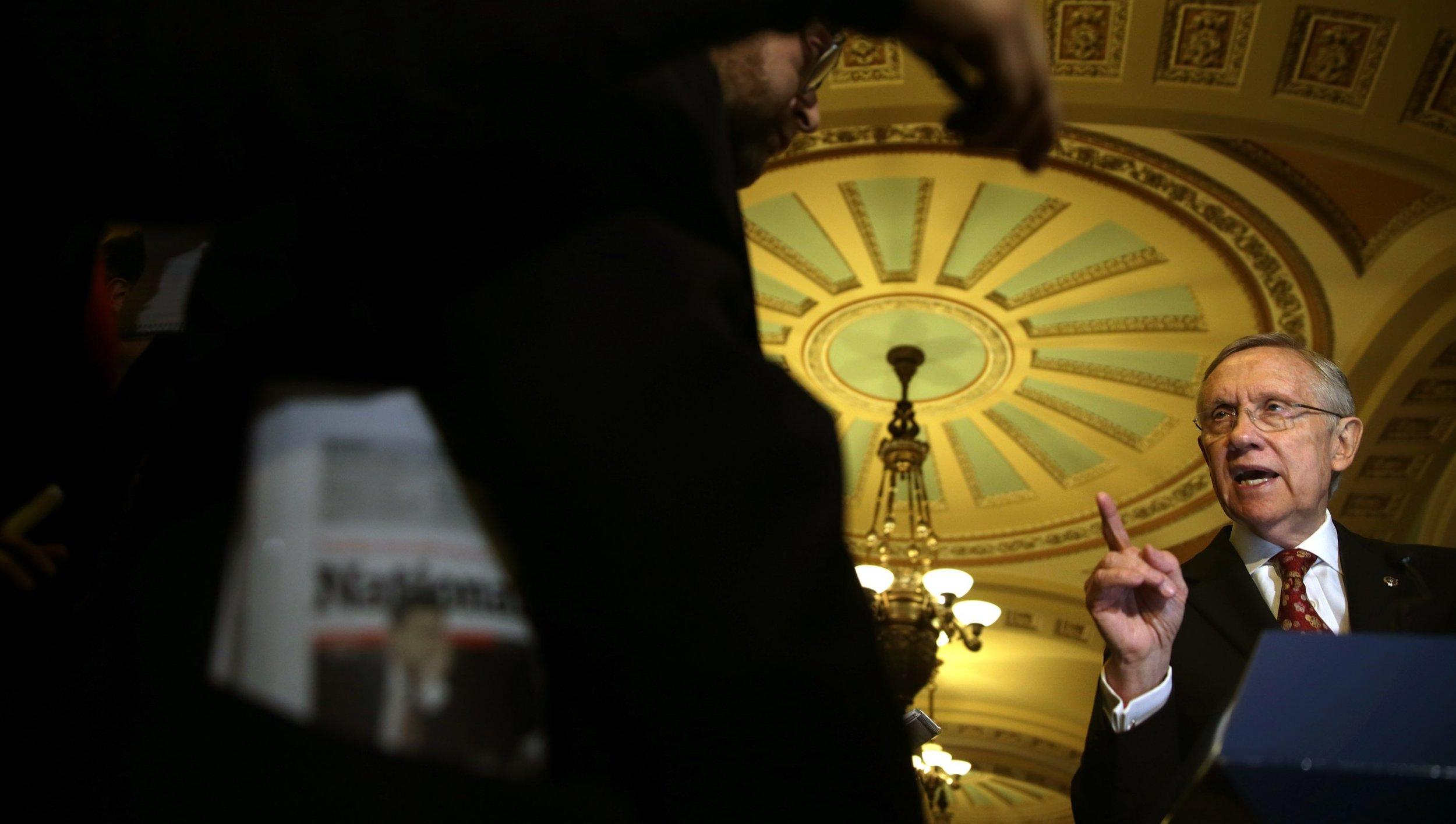 Reid Moves to Abolish the Senate Filibuster