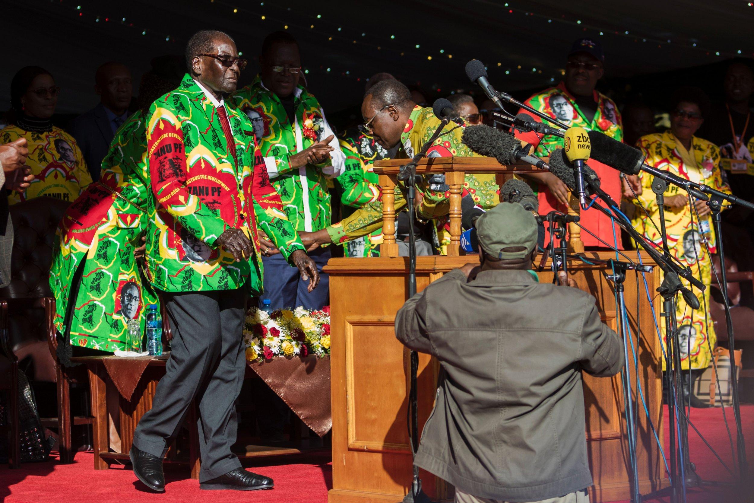 Robert Mugabe rally
