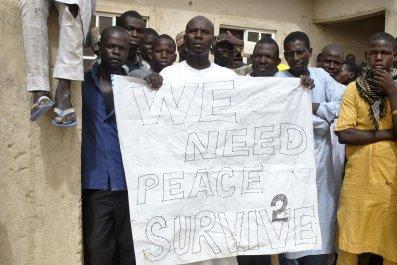 Nigeria Boko Haram IDPs