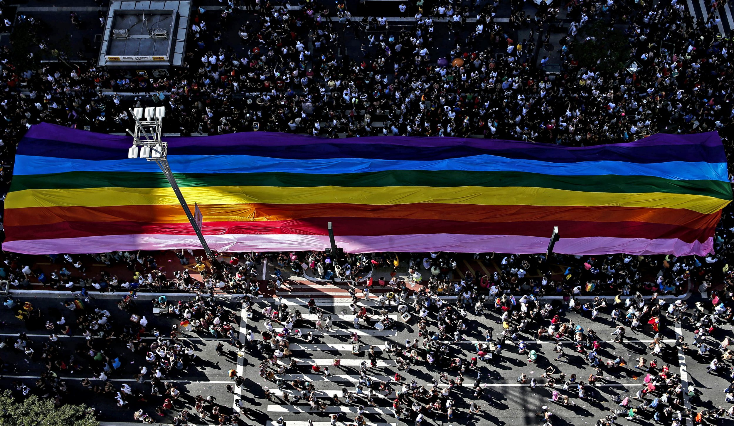 Sao Paulo Has One of the World's Biggest Pride Parades