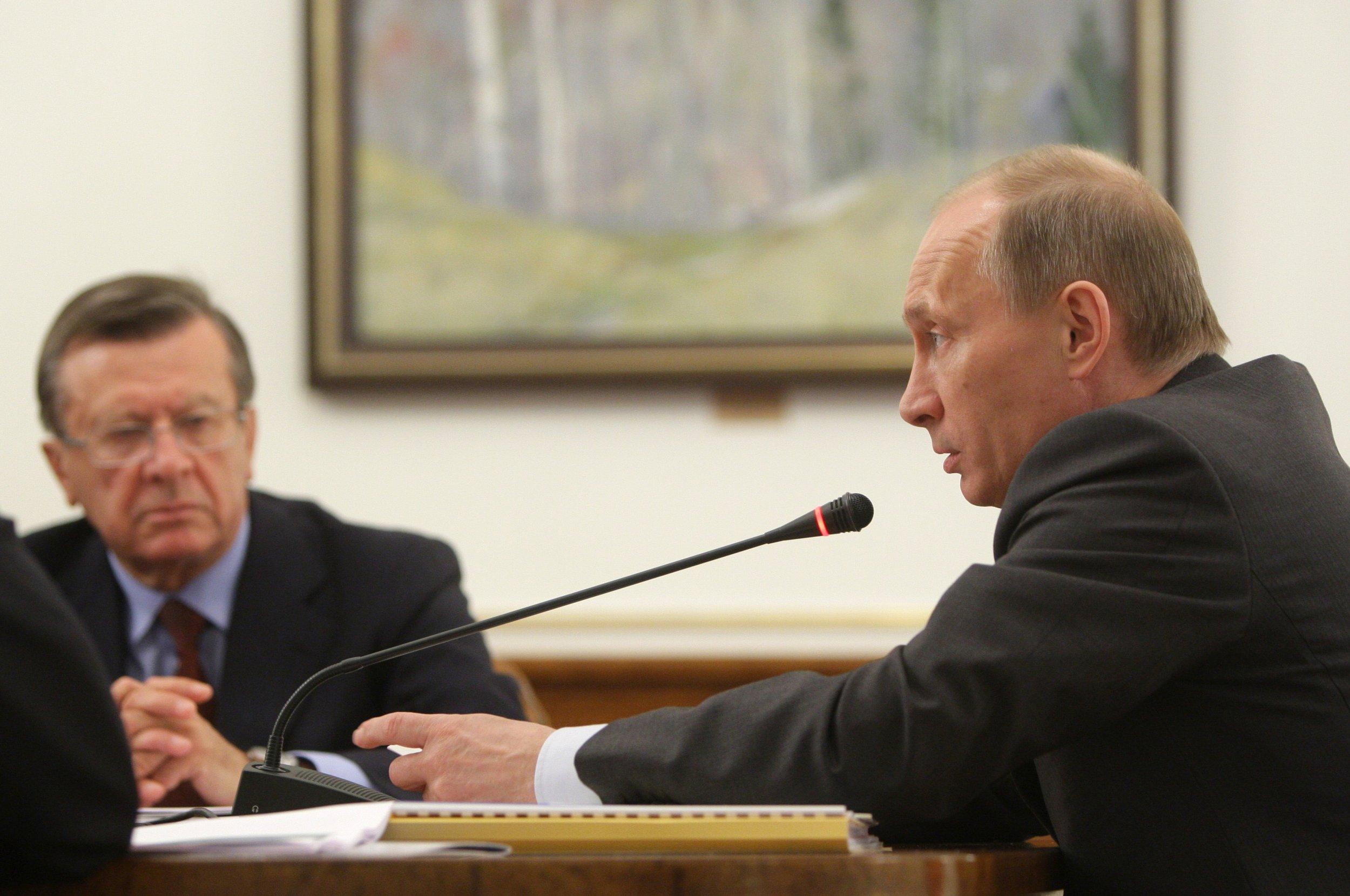 Putin and Zubkov