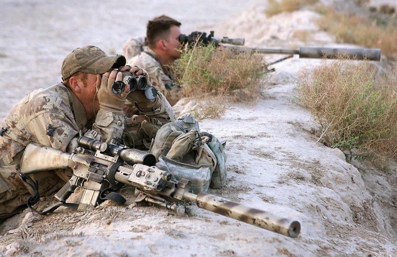 Canada sniper