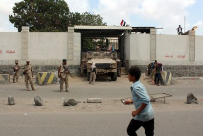 Yemen's Aden Prison