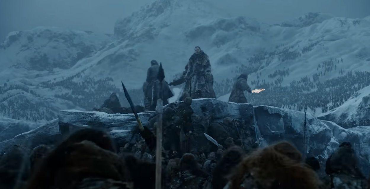 Game of Thrones Season 7 trailer - Jon Snow